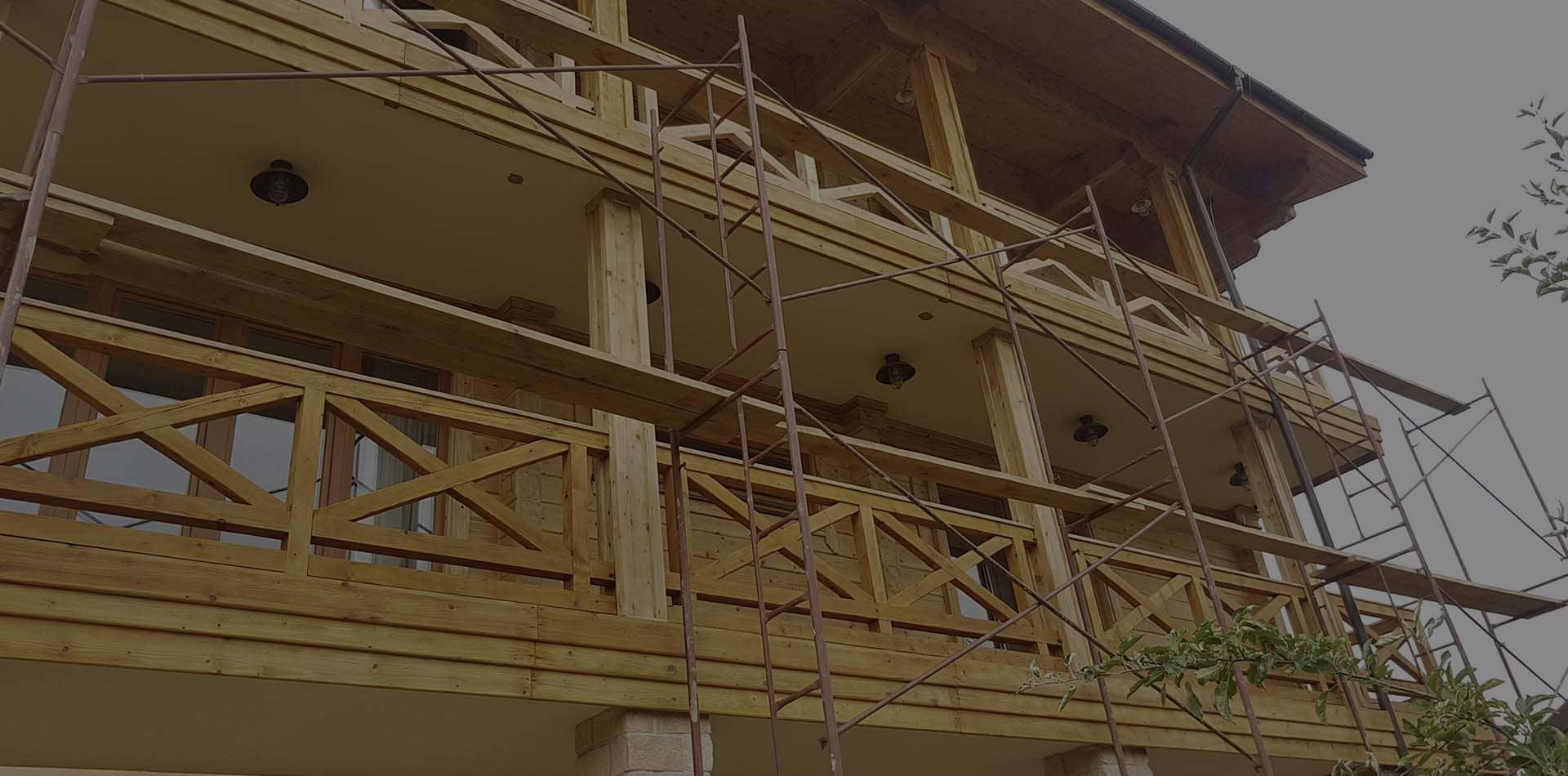 Wooden Evolution: Реставрация деревянных домов (Киев)