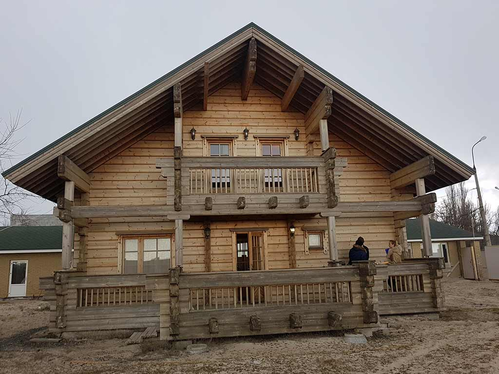 Wooden Evolution: Реставрация дома из клееного бруса Honka (Белосарайская Коса) - фото 1