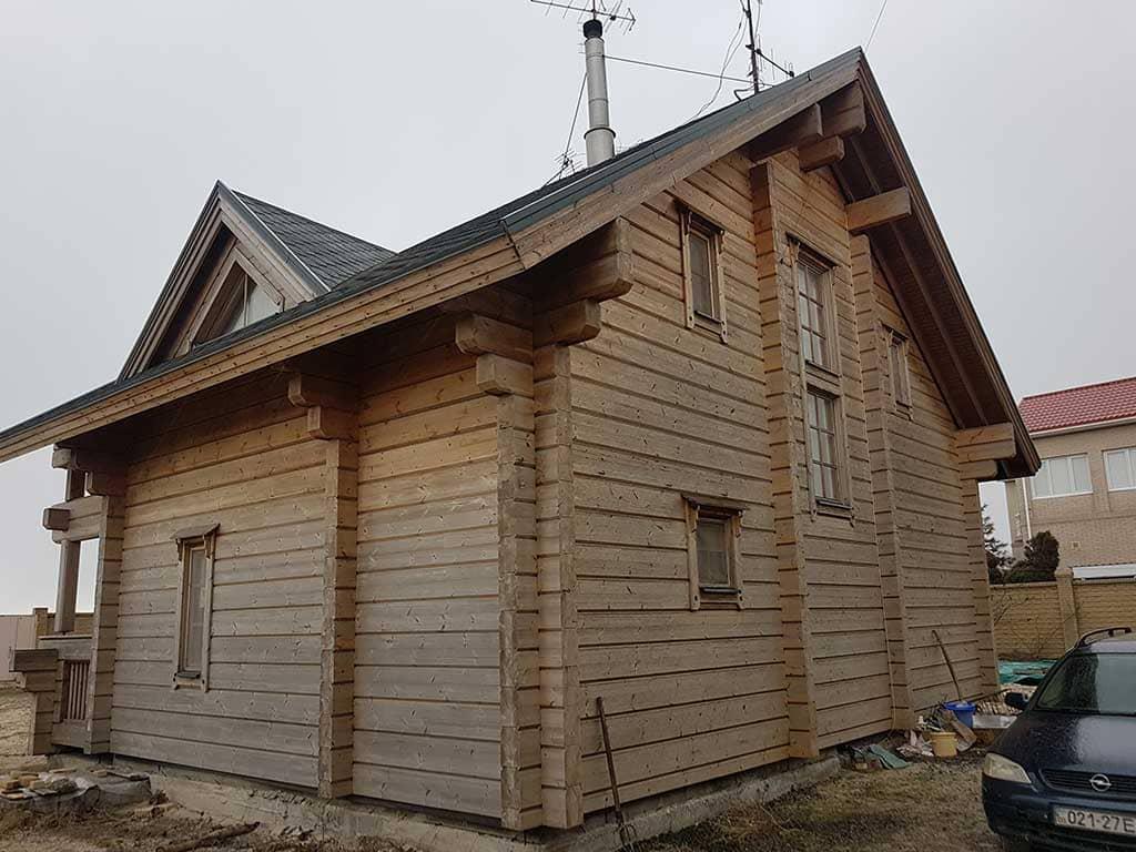 Wooden Evolution: Реставрация дома из клееного бруса Honka (Белосарайская Коса) - фото 4