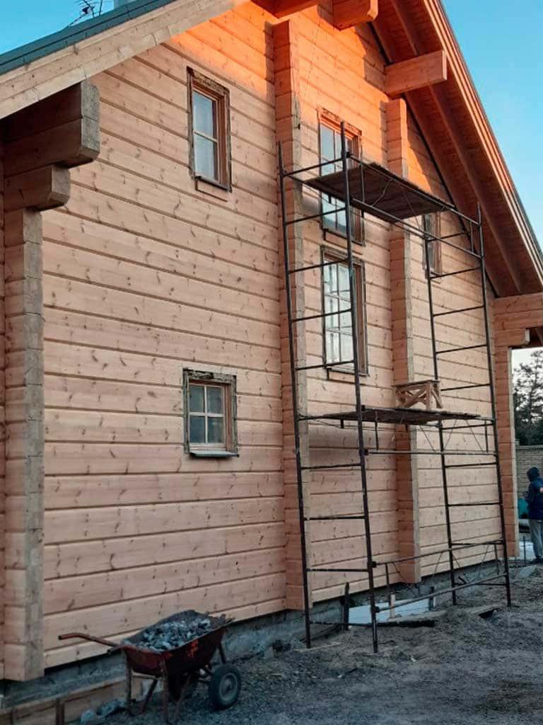 Wooden Evolution: Реставрация дома из клееного бруса Honka (Белосарайская Коса) - фото 6