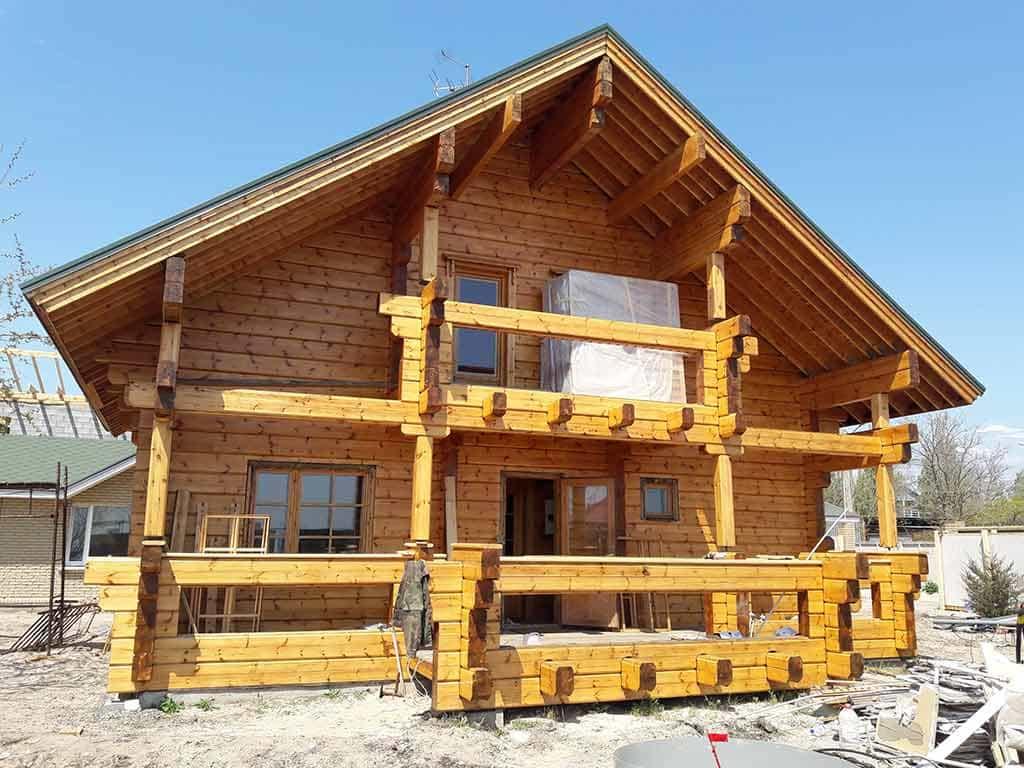 Wooden Evolution: Реставрация дома из клееного бруса Honka (Белосарайская Коса) - фото 9