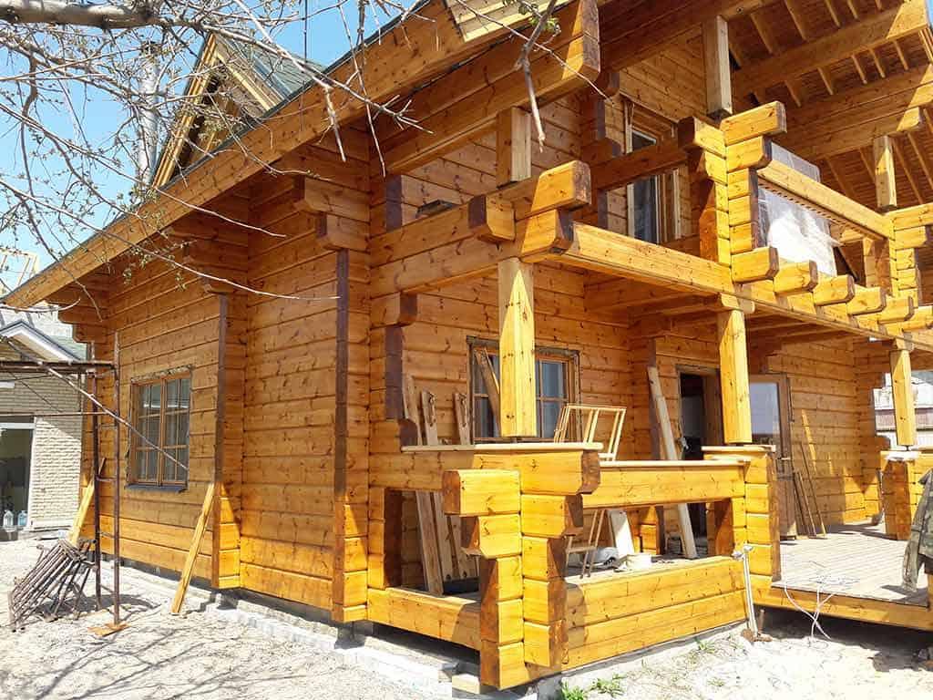 Wooden Evolution: Реставрация дома из клееного бруса Honka (Белосарайская Коса) - фото 10