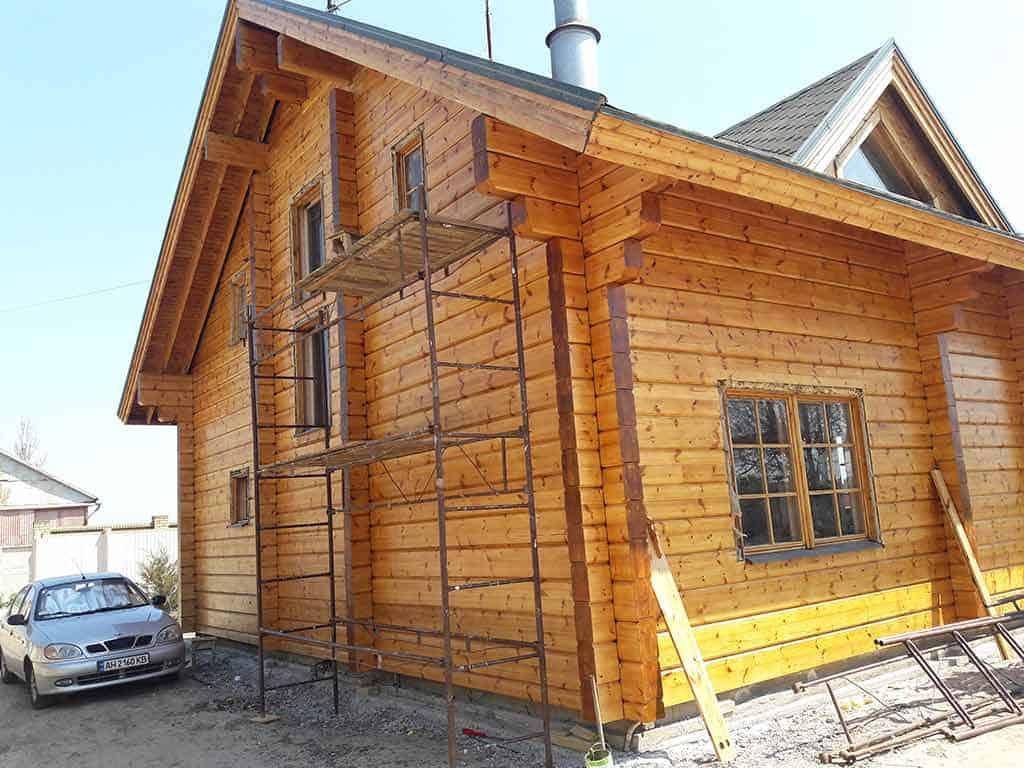 Wooden Evolution: Реставрация дома из клееного бруса Honka (Белосарайская Коса) - фото 5
