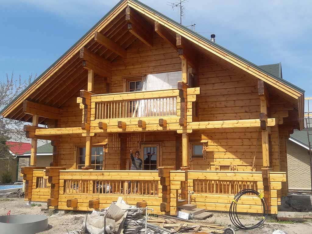 Wooden Evolution: Реставрация дома из клееного бруса Honka (Белосарайская Коса) - фото 11
