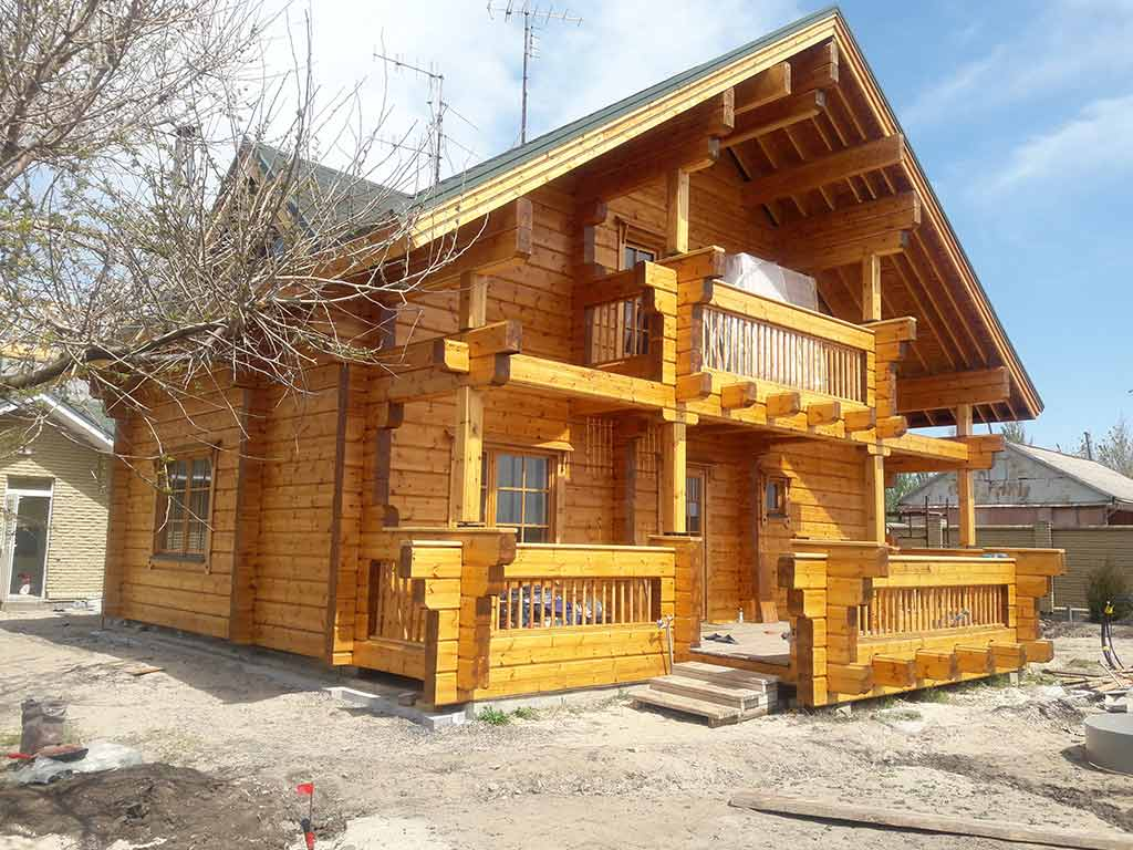 Wooden Evolution: Реставрация дома из клееного бруса Honka (Белосарайская Коса) - фото 12