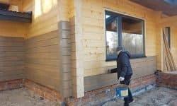 Wooden Evolution: Покраска наружных стен сруба - фото 2