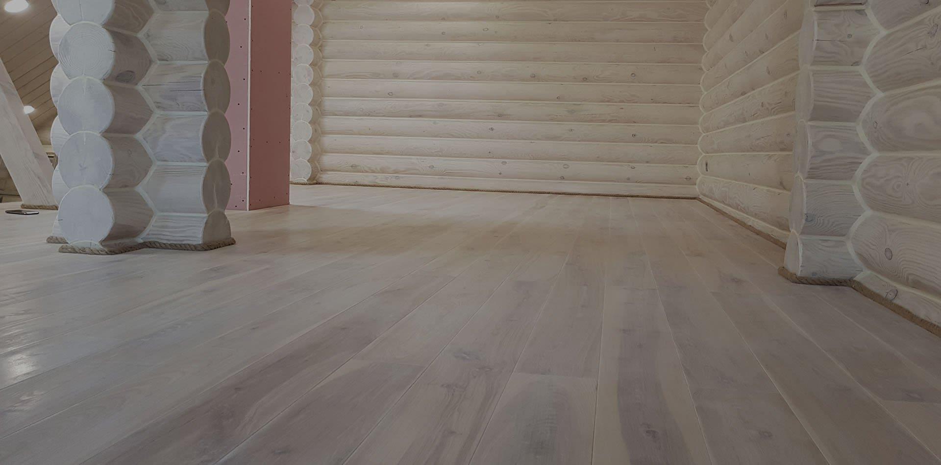 Wooden Evolution: Монтаж пола