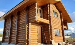 Wooden Evolution: Покраска наружных стен сруба - фото 8