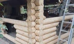 Wooden Evolution: Шлифовка сруба - фото 9