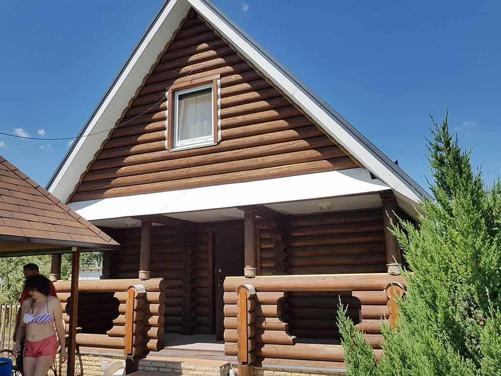 Wooden Evolution: Реставрация фасада дачного дома (Бровары) - фото 1