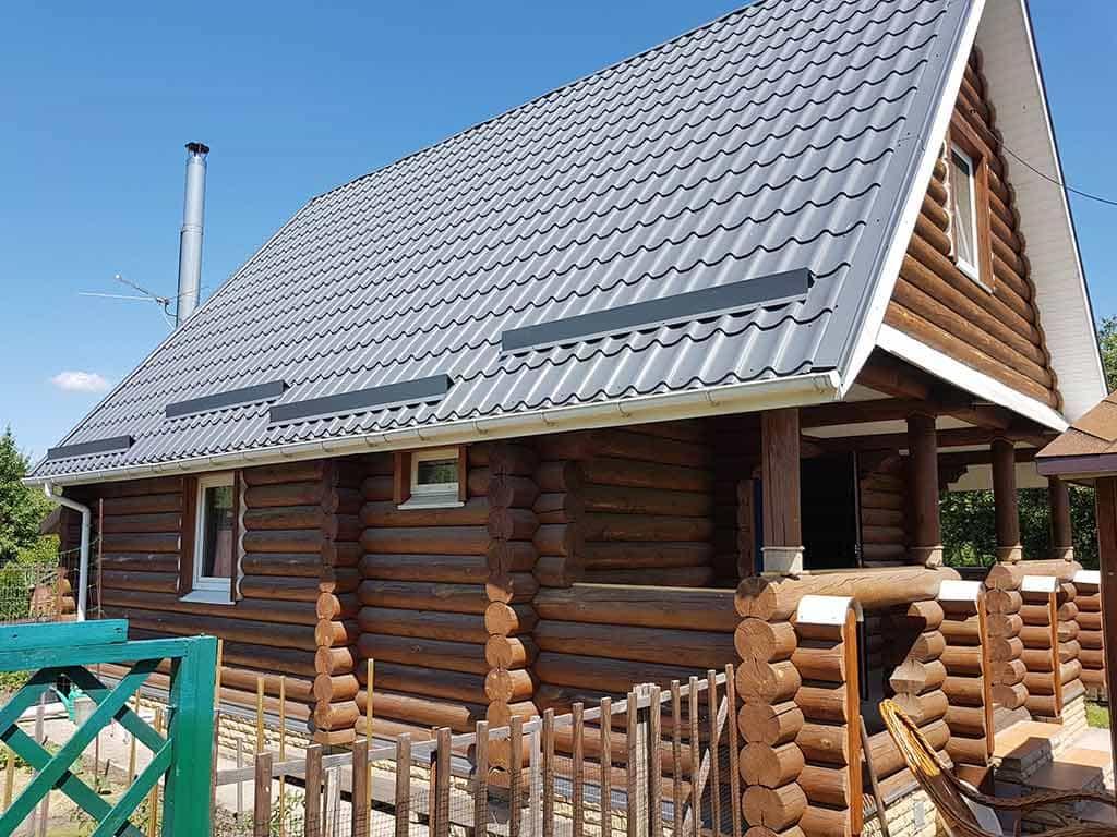 Wooden Evolution: Реставрация фасада дачного дома (Бровары) - фото 3