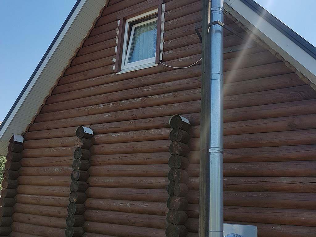 Wooden Evolution: Реставрация фасада дачного дома (Бровары) - фото 4