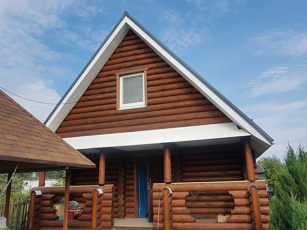 Wooden Evolution: Реставрация фасада дачного дома (Бровары) - фото 7