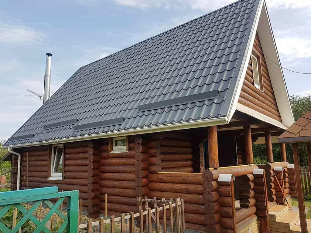 Wooden Evolution: Реставрация фасада дачного дома (Бровары) - фото 9