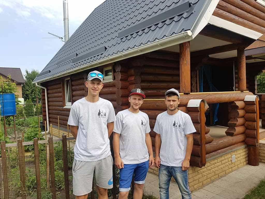 Wooden Evolution: Реставрация фасада дачного дома (Бровары) - фото 11