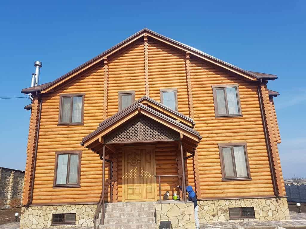 Wooden Evolution: Реставрация и отделка деревянного дома (Гуляй Поле) - фото 2