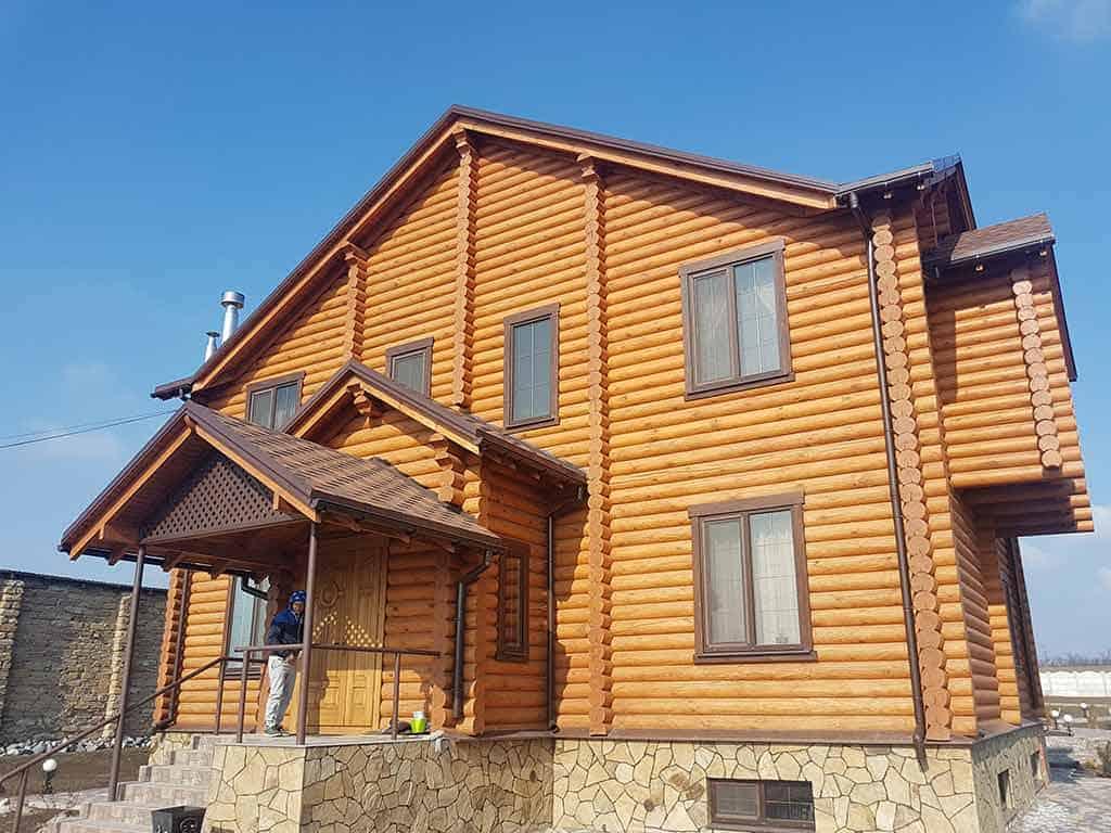 Wooden Evolution: Реставрация и отделка деревянного дома (Гуляй Поле) - фото 3