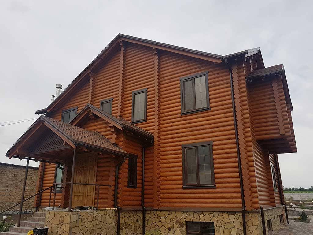 Wooden Evolution: Реставрация и отделка деревянного дома (Гуляй Поле) - фото 7
