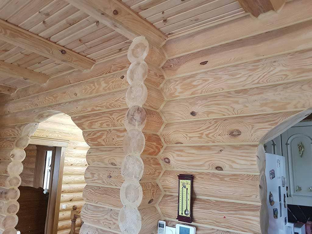 Wooden Evolution: Реставрация и отделка деревянного дома (Гуляй Поле) - фото 8