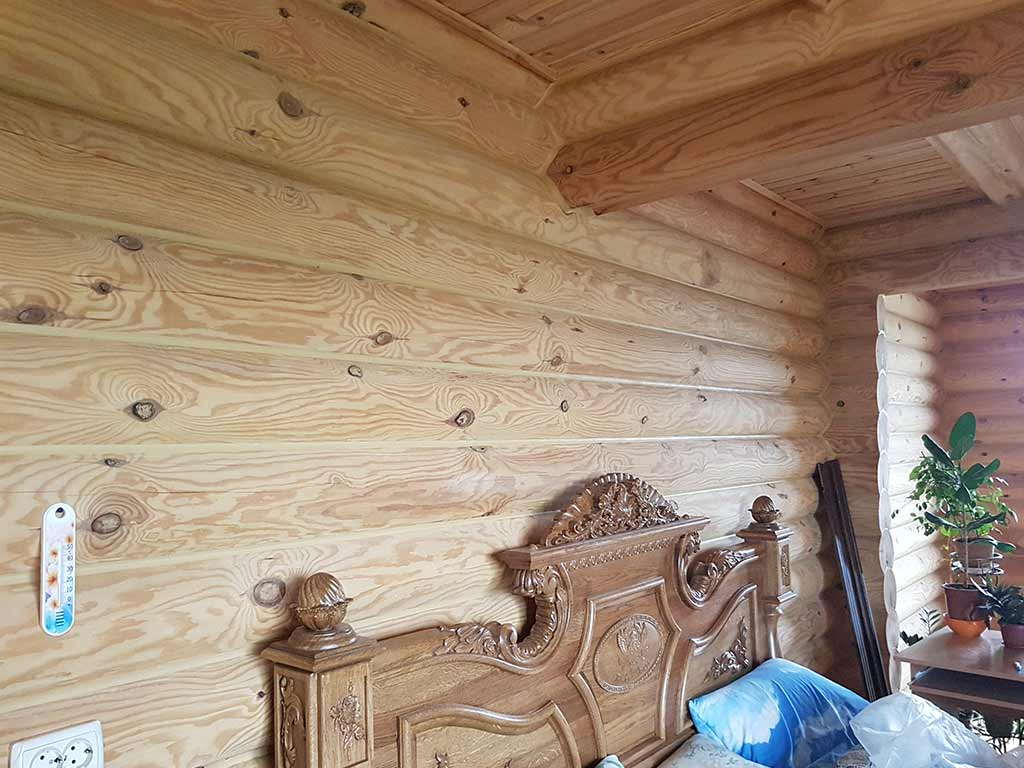Wooden Evolution: Реставрация и отделка деревянного дома (Гуляй Поле) - фото 9