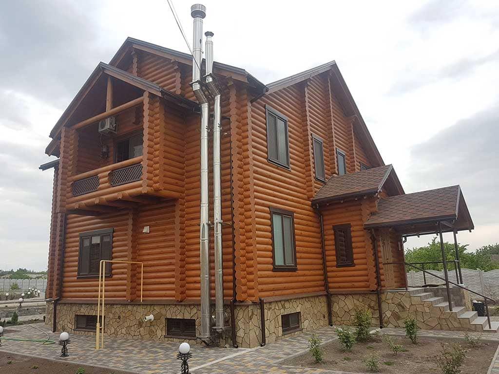 Wooden Evolution: Реставрация и отделка деревянного дома (Гуляй Поле) - фото 10