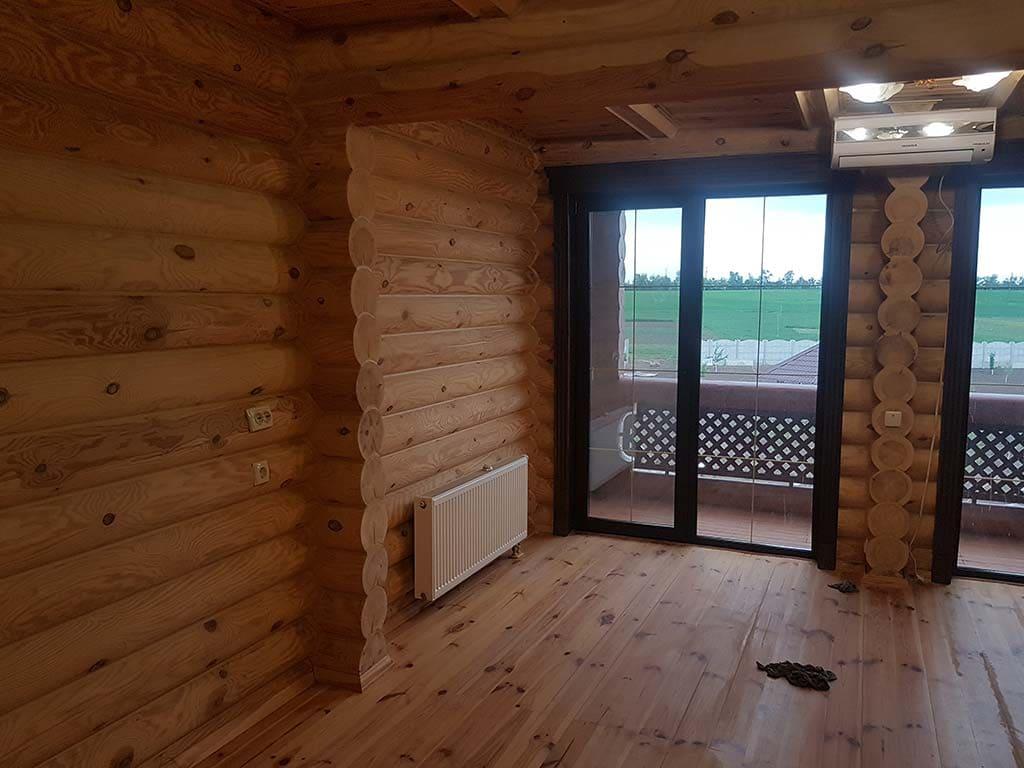 Wooden Evolution: Реставрация и отделка деревянного дома (Гуляй Поле) - фото 11