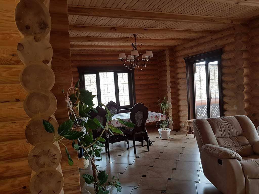 Wooden Evolution: Реставрация и отделка деревянного дома (Гуляй Поле) - фото 12