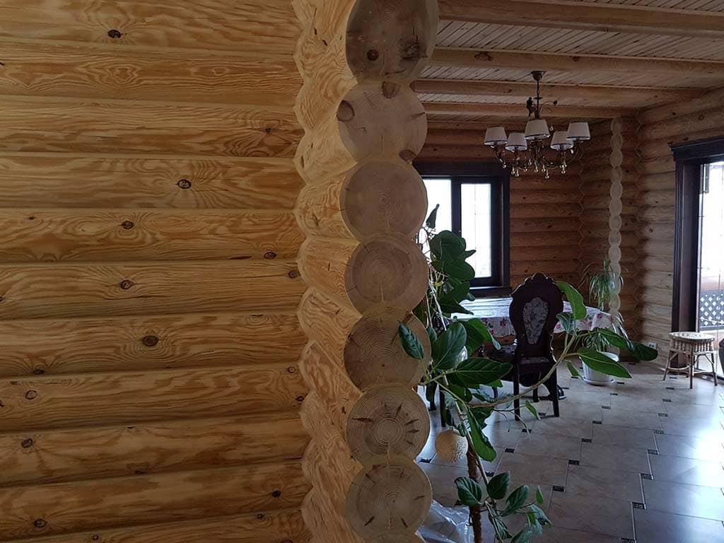 Wooden Evolution: Реставрация и отделка деревянного дома (Гуляй Поле) - фото 13