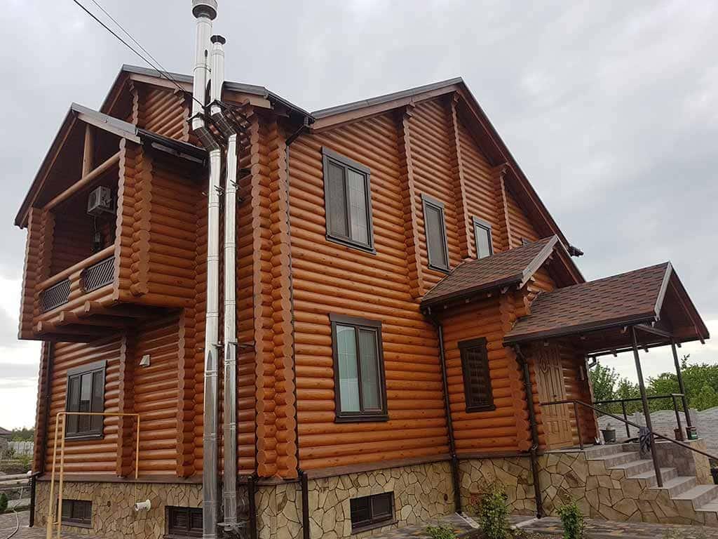 Wooden Evolution: Реставрация и отделка деревянного дома (Гуляй Поле) - фото 14