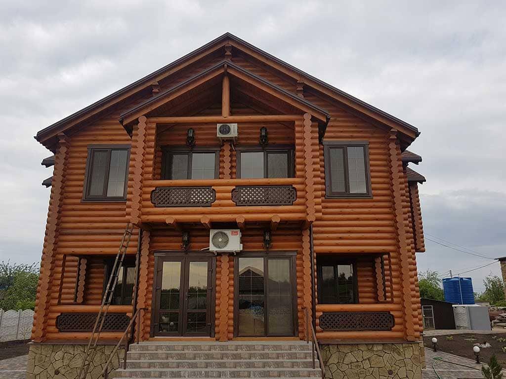 Wooden Evolution: Реставрация и отделка деревянного дома (Гуляй Поле) - фото 15