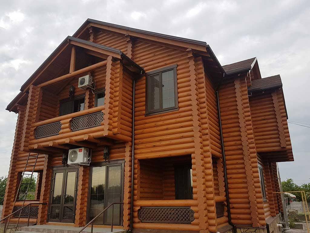 Wooden Evolution: Реставрация и отделка деревянного дома (Гуляй Поле) - фото 16