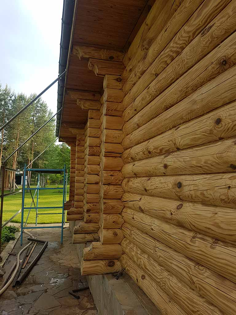 Wooden Evolution: Реставрация дома, бани, беседок (с. Кийлов) - фото 7