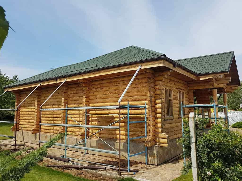 Wooden Evolution: Реставрация дома, бани, беседок (с. Кийлов) - фото 9