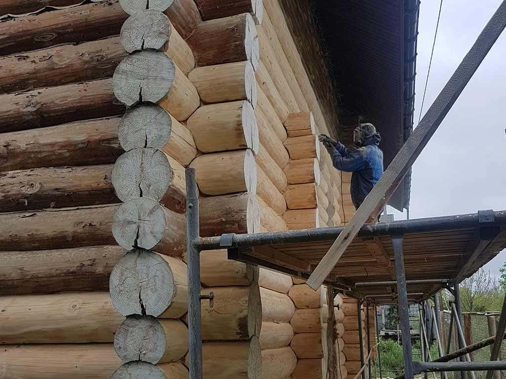 Wooden Evolution: Наружные работы (Музычи) - фото 4