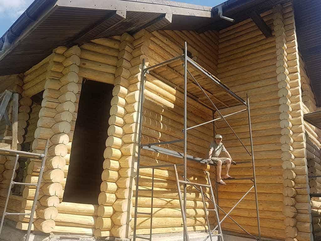 Wooden Evolution: Наружные работы (Музычи) - фото 8