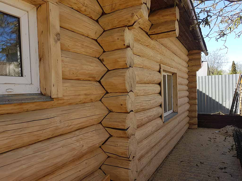 Wooden Evolution: Реставрация фасада дома (Осокорки) - фото 5