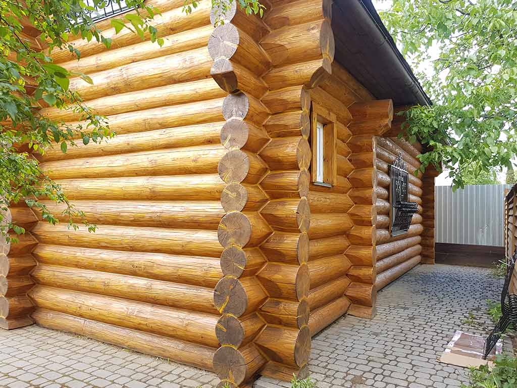 Wooden Evolution: Реставрация фасада дома (Осокорки) - фото 10