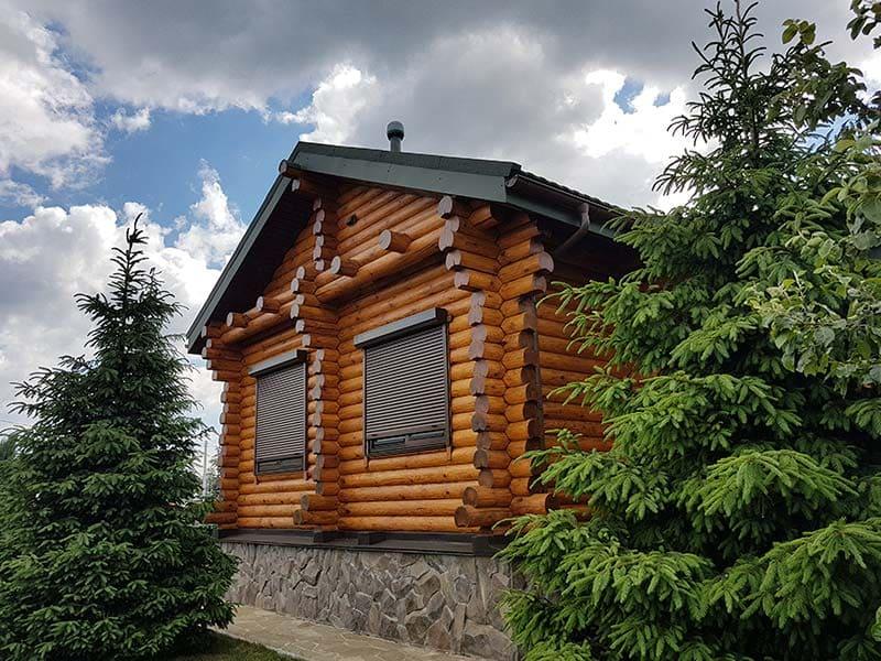 Wooden Evolution: Отделка деревянных домов (фото на главную)