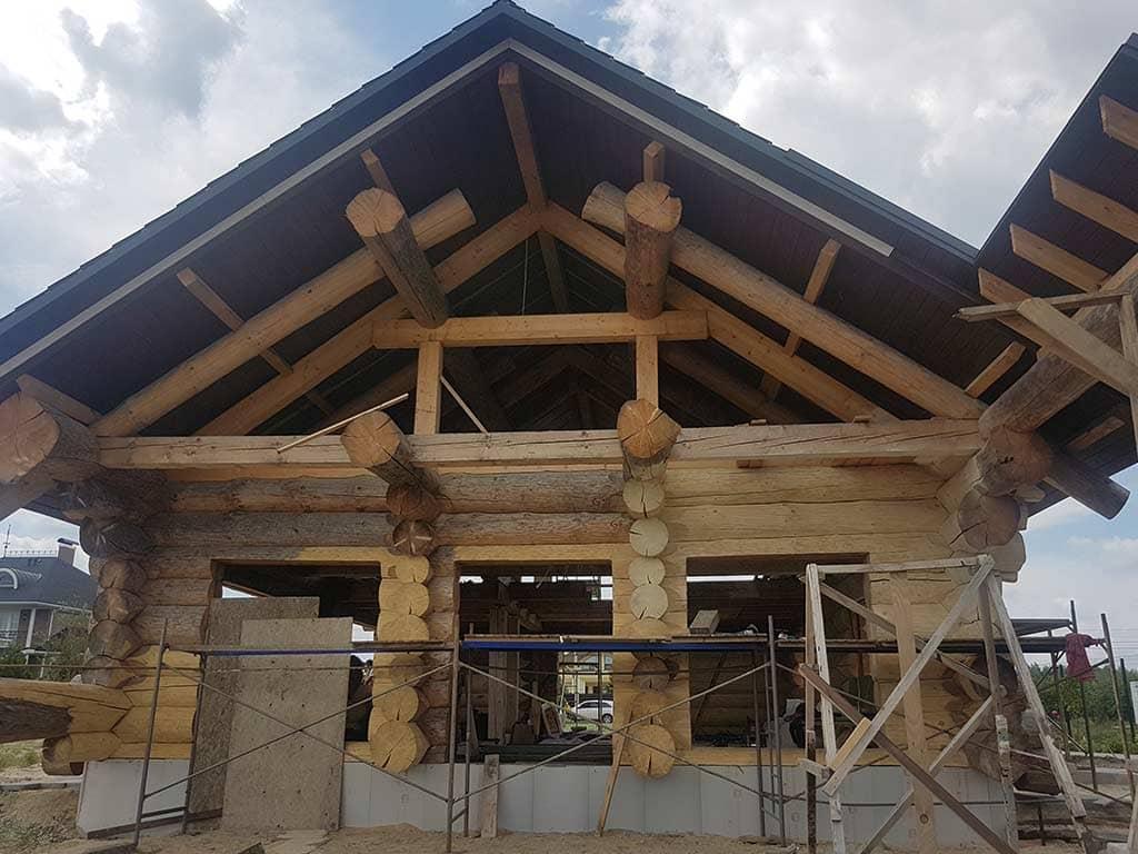 Wooden Evolution: Реставрация фасада (Осокорки) - фото 4