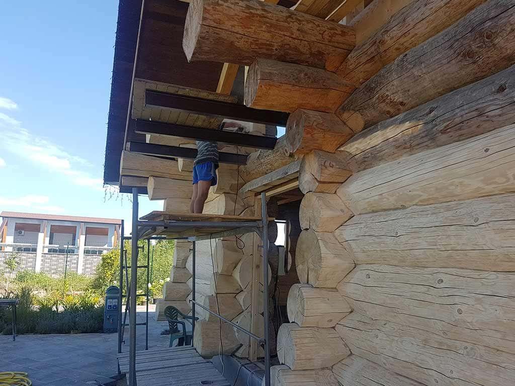Wooden Evolution: Реставрация фасада (Осокорки) - фото 5