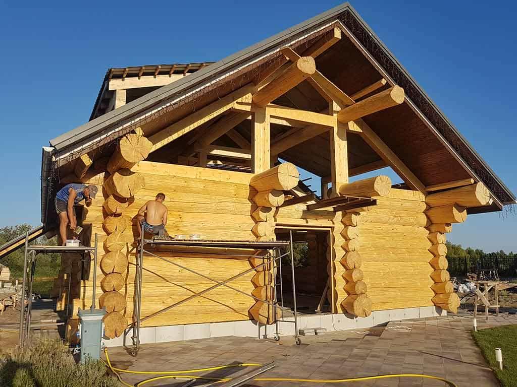 Wooden Evolution: Реставрация фасада (Осокорки) - фото 7