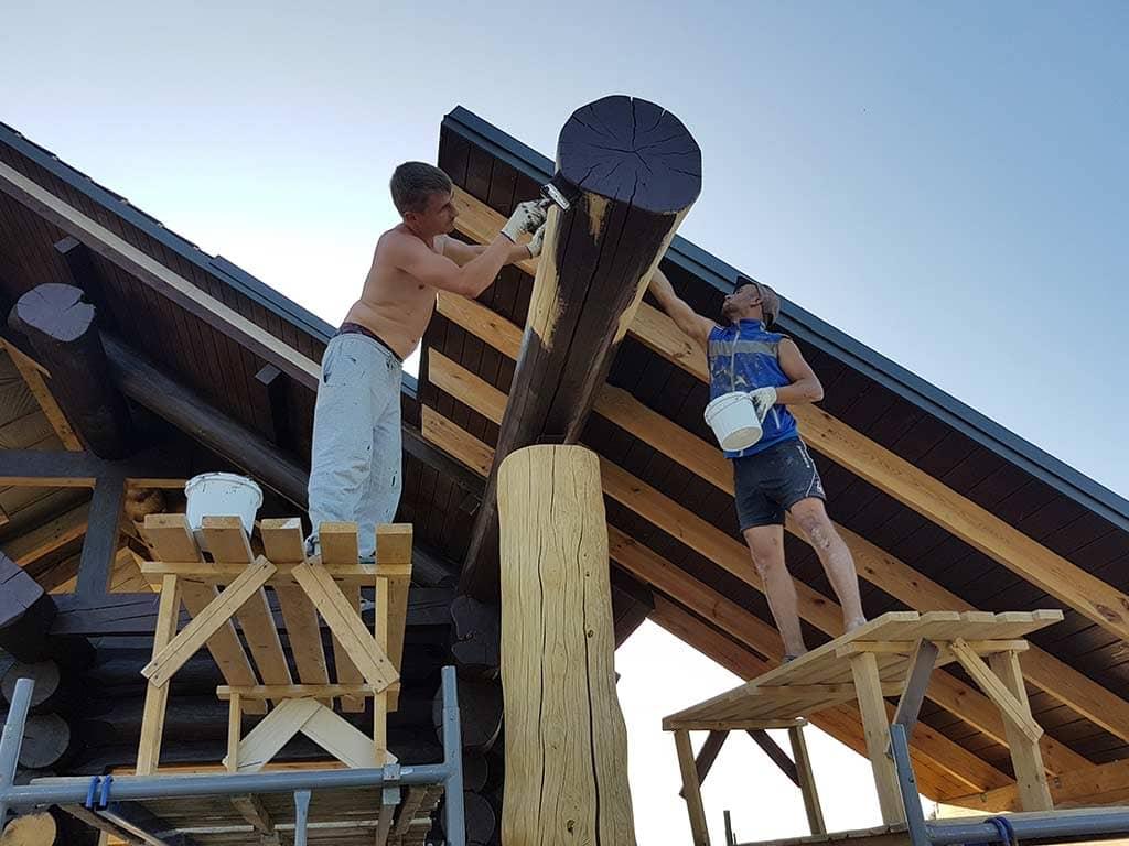Wooden Evolution: Реставрация фасада (Осокорки) - фото 8