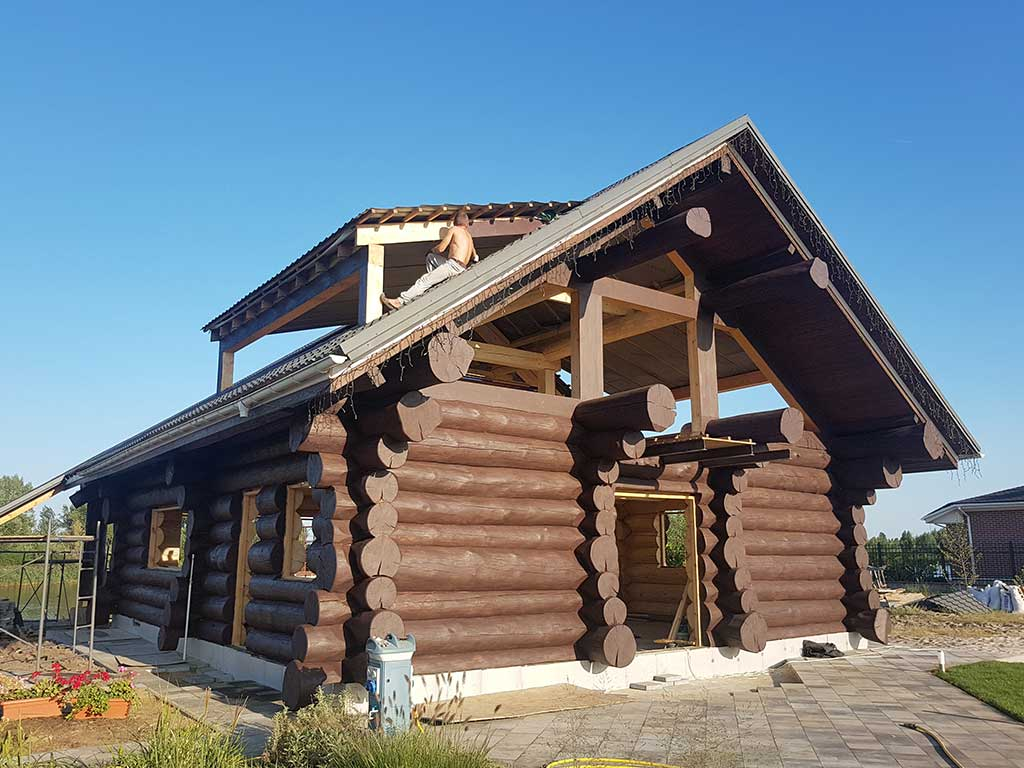 Wooden Evolution: Реставрация фасада (Осокорки) - фото 9