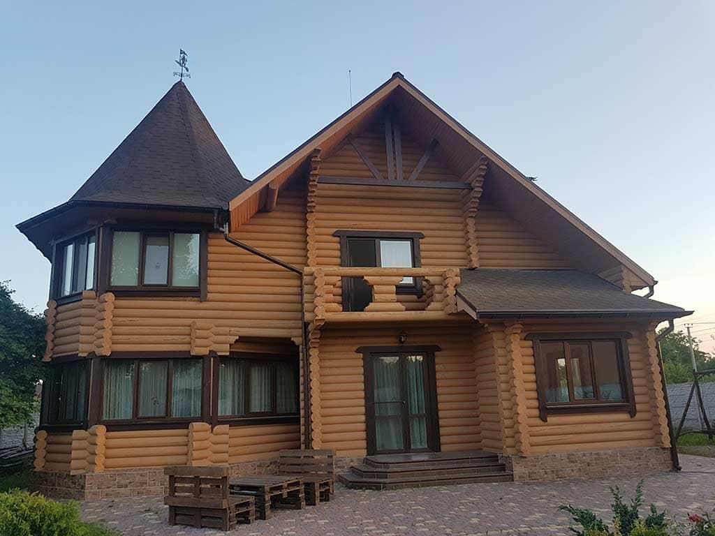 Wooden Evolution: Реставрация и утепление фасада дома (Мархаловка) - фото 1