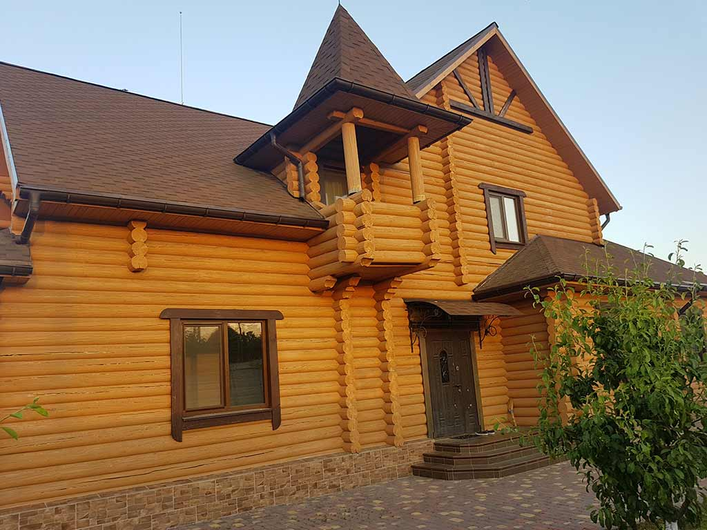 Wooden Evolution: Реставрация и утепление фасада дома (Мархаловка) - фото 2
