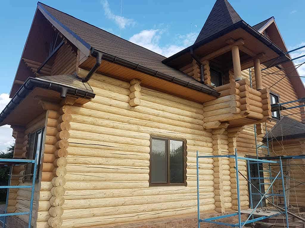 Wooden Evolution: Реставрация и утепление фасада дома (Мархаловка) - фото 4
