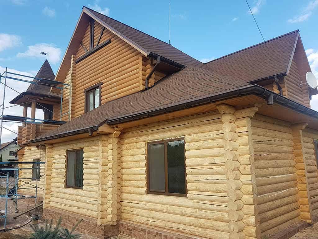 Wooden Evolution: Реставрация и утепление фасада дома (Мархаловка) - фото 6