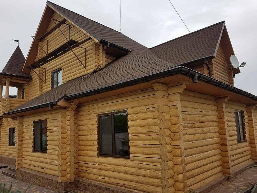 Wooden Evolution: Реставрация и утепление фасада дома (Мархаловка) - фото 8