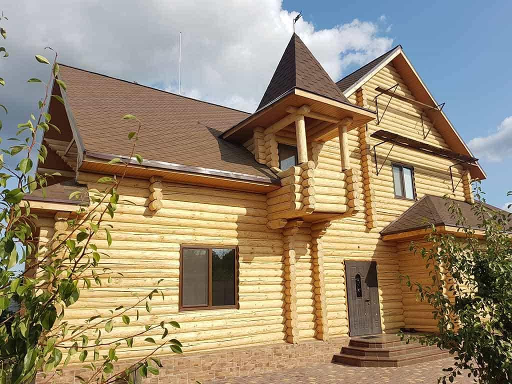Wooden Evolution: Реставрация и утепление фасада дома (Мархаловка) - фото 10