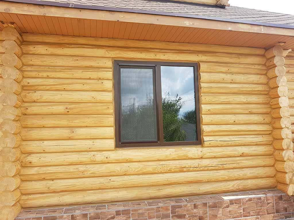Wooden Evolution: Реставрация и утепление фасада дома (Мархаловка) - фото 13
